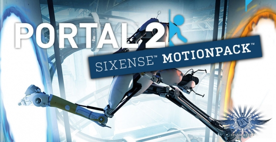 Steam дарит еще одну игру Portal 2 Sixense Perceptual Pac