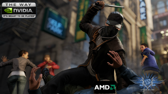 Watch Dogs «против» AMD