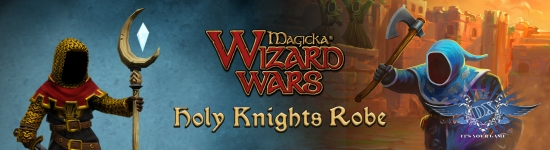 Indiegala раздает Magicka: Wizard Wars — Holy Knights Robe