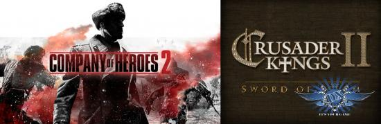 Steam дарит Company of Heroes 2 и дополнение к Crusader Kings 2